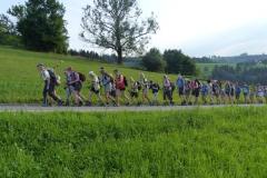 Fußwallfahrt zum Sonntagberg - Montag, 6. Juli 2015